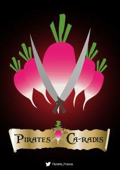 Pirates des Ca-radis #UnLegumeDansUnFilm #Florette #Veggister
