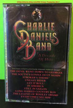"Charlie Daniels Band Cassette ""A Decade of Hits"" NIP   eBay"