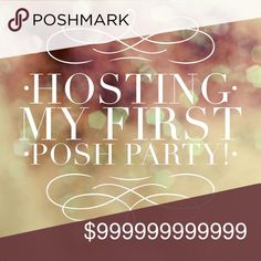 Hosting Best in Boutiques 3/21 So excited to be hosting my first ever Posh Party! Date March 21, 2018 Time 6pm CST  Theme Best in Boutiques   Looking for super cute boutique closets & listings! If you have one please feel free to direct share 1-2 listings to my dressing room! Feel free to spread the word by sharing this listing! 💕💖 Other