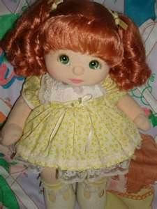 my child doll girl with red ringlets