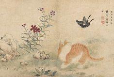 Картина корейского художника Син Юн Бока (1758 — 1813)