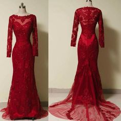RightBrides 47526 | Burgundy Prom Dresses 2017, Pretty Handmade Wine Red Lace Applique with Tulle Prom Gowns Red Prom Gowns Red Prom Dresses Evening Dresses Red Formal Dresses for Sale