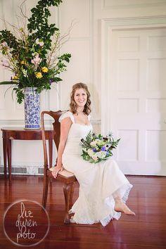 Charleston SC Wedding | Nancy in her family's Historic Charleston Home | Liz Duren Photography | Southern Wedding |
