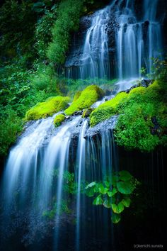 Doryu Falls, Yamanashi, Japan 吐竜の滝