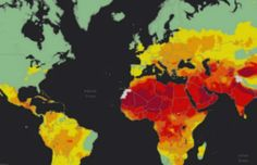 A new WHO air quality model confirms that 92% of the world's population lives in places where air quality levels exceed WHO limits. Some 3 million deaths a year are linked to exposure to outdoor air pollution. Indoor air pollution can be just as deadly. In 2012, an estimated 6.5 million deaths (11.6% of all global deaths) were associated with indoor and outdoor air pollution together.