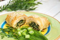Savory Snacks, Spanakopita, Minion, Healthy Recipes, Ethnic Recipes, Food, Salty Snacks, Essen, Minions