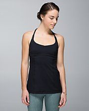 this is beautiful on! you could seriously wear it out on a date!  Lululemon Alight Halter