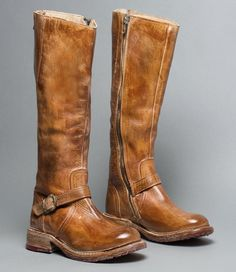 """GLAYE Tan Rustic - Distressed Leather Women's Riding Boot """"all I want for Christmas is""""...this pair of boots!!!"""