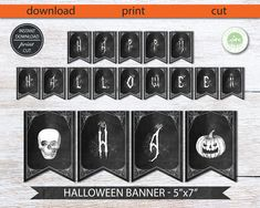Excited to share the latest addition to my #etsy shop: Halloween Banner, Happy Halloween Banner, Printable Halloween Banner, Printable Printable Chalkboard Halloween Banner, Instant download #halloweenbanner #happyhalloweenbanner #halloweengarland #happyhalloweengarland #printablehalloweenbanner #chalkboardhalloweenbanner #halloweenhorror #scaryhalloweenbanner #ghost #diyhalloweenbanner #halloweenscare #halloweennight #banner #halloween #greathalloweenbanner #reallyscaryhalloween #skull… Happy Halloween Banner, Halloween Garland, Halloween Horror, Halloween Night, Printable Banner, Printables, Halloween Party Invitations, Banner Printing, Print And Cut