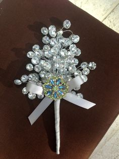 custom brooch bouquets alternative bouquet by TheCrystalFlower, $68.00