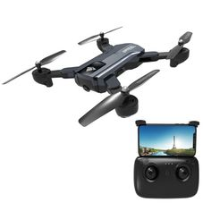 F196 Foldable Drone 2.4GHz 4-Axis WiFi RC Quadcopter with Dual Cameras & Remote Control, Super Long Battery Life, Gesture Photographing, Optical Flow Positioning Tracking & Altitude Hold, Headless Mode, One Key Return  1. Fly functions: Up and down, left and right turn, forward, backward, left and right side flight.  2. Fast and slow speed control, one-button return.  3. Headless mode, no need to worry about orientation and with the simple press of a button your drone will rise to a height or la Foldable Drone, Fast And Slow, Rc Helicopter, Taking Pictures, Wifi, Remote, Bb, Videos, Pilot