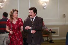 """Ron and Diane"" / Parks and Recreation / #ParksandRec"