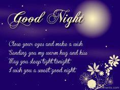 I Wish You A Sweet Good Night