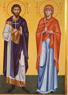 St. Adrian & St. Natalia