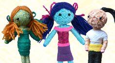 Panenka z vlny – návod na výrobu – Školní svět Fictional Characters, Packaging, Baby Dolls, Fantasy Characters
