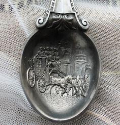 Купить Винтаж...коллекционная оловянная ложка..Германия в интернет магазине на Ярмарке Мастеров