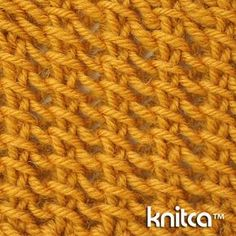 An amazing fully reversible stitch pattern. It has a nice texture, that looks like no other knit stitch.