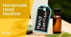 This homemade hand sanitizer recipe is easy to make, cost effective and good for your skin! It kills off bacteria, calms, nourishes and hydrates your skin!