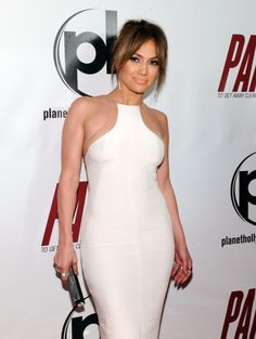 White Hot.There's no secret J.Lo has a hot bod, and she made sure to show it off when she stepped on the carpet of the premiere of her film Parkeratthe Planet Hollywood Resort & Casino in Las Vegas in this gorgeous, skin-tight white dress.