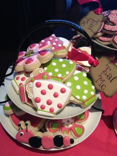 Alice in Wonderland Cookies created by Cookie Cousins for PLAYGROUND Magazine
