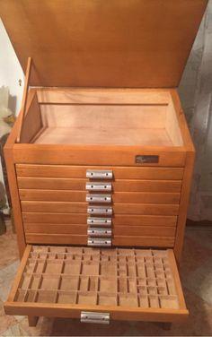 Peque o mueble japones cajones escritorio papelera for Muebles japoneses antiguos