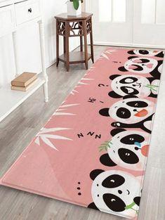 Cartoon Panda Floor Rug - multicolor A W16 X L47 INCH Waterproof Floor Mats, Cartoon Panda, Motifs Animal, Cheap Rugs, Animal Fashion, Floor Rugs, Congratulations, Kids Rugs, Flooring