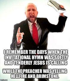 Good old fashioned preaching  #Christian #meme #christianmeme