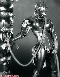 Demask Bizarre Catalog 2004    #latex #heavyrubber #fetish #rubber #catsuit #hood #mask #black #corset