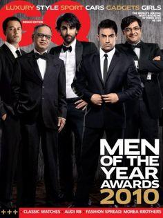 Ranbir Kapoor & Aamir Khan. GQ India October 2010.