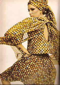 Bazaar March 1965-Paris Collections. Patterns
