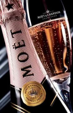 "Doesn't everyone think of ""An Affair to Remember"" when they see pink champagne?? It's one of my favorite movies!"