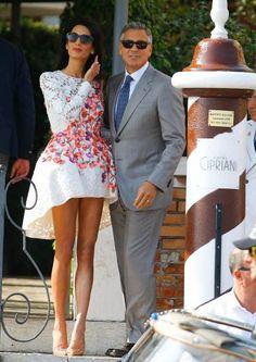 George & Amal Clooney <3