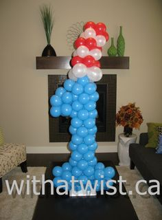 dr+seuss+balloons | Dr. Seuss Party