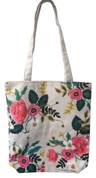 Rifle Paper Co Preppy Summer Spring Tote in Floral print