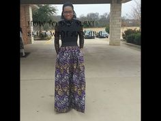 Hello, Simple ankara maxi skirts with pockets. Do subscribe cause I post videos…