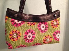 Product 31 Purse Skirt ReversibleFlowers by QuiltedNStitched, $14.50