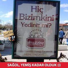 Yiyenler, yemeyenlere anlatsın. Yemek zorunda kalmasınlar. #sosyalökuz #öküz #reklam #reklamı #reklamlar #ilginç #çarpıcı #güzel #kebap #turkish #turkishkebab #çok #iskender #bursa #İzmir #İstanbul #bolu #kebapçı #et #lezzet #yemek #komik #yemiş #kadar #olduk #sağol #leziz #afiş #xeyir #bakü #azerbaijan