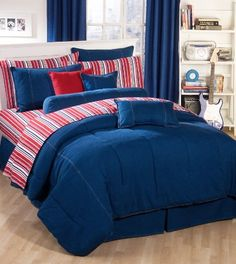 American Denim Comforter Set, TwinXL Kimlor http://www.amazon.com/dp/B006X56KLY/ref=cm_sw_r_pi_dp_EXKJtb1DP7KEZJ75