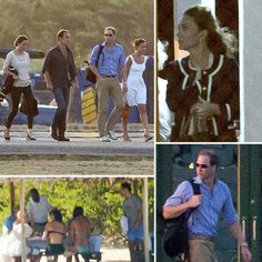 Kate and William on vacation with the Middleton's in Mustique.