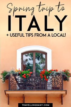 Are you planning a trip to Italy in spring and you have no idea what to expect? This useful guide from a local will help you to understand what to pack for this spring vacation, how is Easter celebrated in Italy and the best dishes you can eat on this spring break! European Travel Tips, Italy Travel Tips, European Destination, Backpacking Europe Tips, Packing Tips, Spring Break Destinations, Travel Destinations, Spring Vacation, Visit Italy