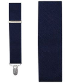 Sand Wash Solid - Navy (Suspenders - Clip) | Ties, Bow Ties, and Pocket Squares | The Tie Bar