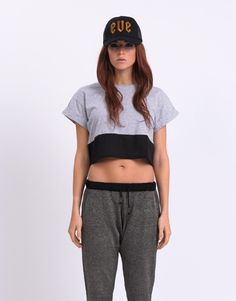All About Eve Panel Crop Tee | All About Eve #allabouteve #fashion #crop All About Eve, Crop Tee, Free Spirit, Sports Women, Woman, Celebrities, Tees, Winter, Inspiration