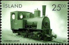 Sello: Steamlocomotive (Islandia) (Vehicles) Mi:IS 909 D,Sn:IS 877,AFA:IS 894Co