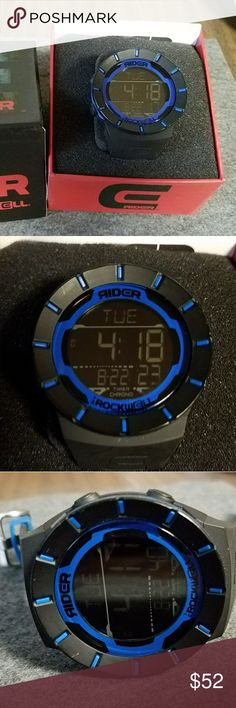 Rider watch by Rockwell Used with a small blemish on the bezel. See photos. Rockwell Accessories Watches