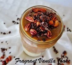 Raw Snickers Shake from Fragrant Vanilla Cake