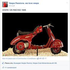 Vespa 125 Racing 1948