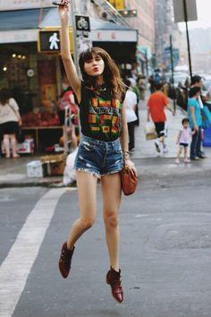 Natalie Suarez. model, fashion blogger, awesome chick!