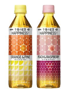 Kirin Happiness tea packaging