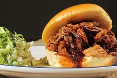 """""""South"""" Jersey Pulled Pork Sandwiches #KitchenBoss"""
