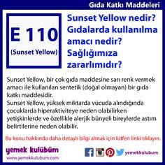 GIDA KATKI MADDELERİ : Sunset Yellow nedir?  http://yemekkulubum.com/icerik_sayfa/kullanimina-izin-verilen-gida-boyalari   #katkı #gıdaboyası #sarı #sunsetyellow #gıdakatkımaddesi #katkımaddesi #katkımaddeleri #renklendirici #renkli #renkverici